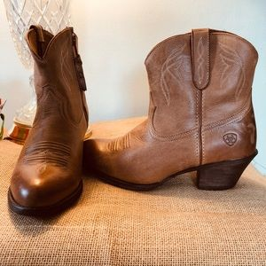 COWBOY STYLE LOW BOOTS